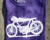 Puch Magnum Cafe Racer Moped Screenprinted T-Shirt
