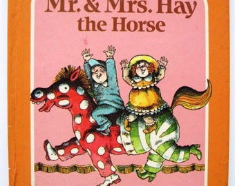 Mr. & Mrs. Hay the Horse - WACKY FAMILIES Series - Vintage Children's Book