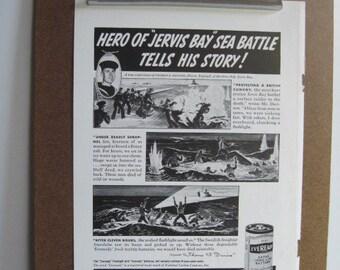 EVEREADY BATTERY - Vintage 1941 Magazine Advertisement