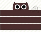 Woodland Party PRINTABLE Owl Crown by Love The Day