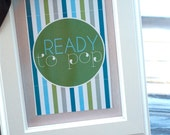 Ready To Pop Baby Shower PRINTABLE 4X6 Party Signs by Love The Day