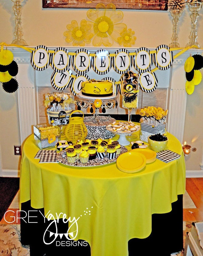 mama to bee baby shower printable full party instant