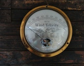 Vintage Cape Cod Wind Speed And Weather Indicator