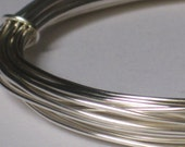 Non-Tarnish Silver Color Jewelry Wire -- 20 gauge   (Qty 10 ft)    65-117