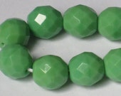 10 mm Faceted Czech Fire-Polished Beads (Full 16 inch strand)  90-6-187