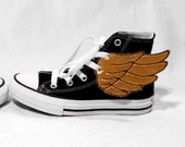Gold/Copper Wings - Prepare for Take-Off - FREE shipping