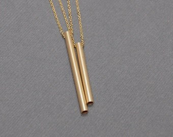 14K Gold Chime Necklaces