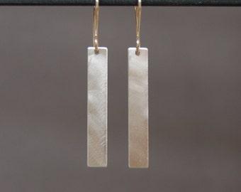Silver Stix Earrings