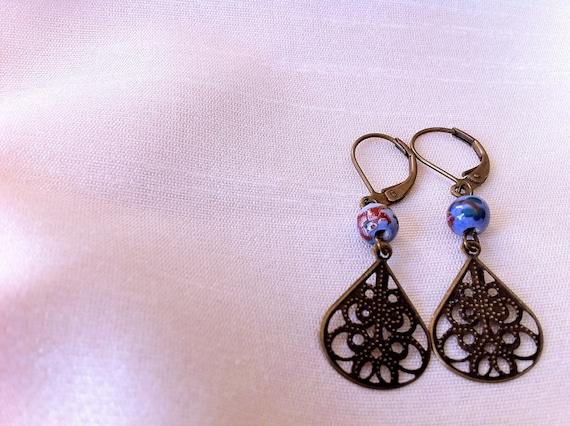 Periwinkle Love Earrings