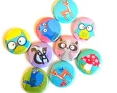 Buttons - Forest Friends (set of 20)
