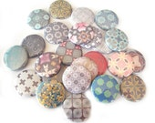 Buttons - Soft, Muted Assorted  (Set of 20)