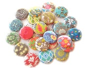 Buttons - Assorted Patterns (Set of 20)