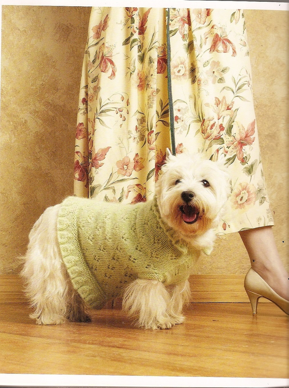 Dog Knitting Book patterns SWEATERS knit & by vintagebooklover