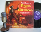 "ON SALE Pirates of the Caribbean - ""Walt Disney's Pirates of the Caribbean"" (Original 1968 Disneyland Records with original color booklet)"