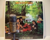 """ON SALE Vintage Vinyl 12"""" Record, 'Bow Wow Wow' - """"The Last of the Mohicans' (Rare BANNED Original Cover - Cut-out"""