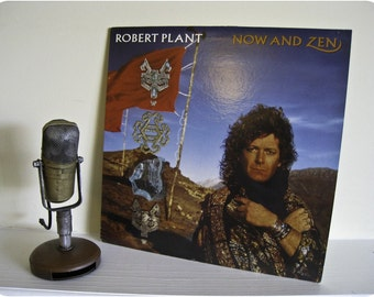 """Robert Plant (Led Zeppelin) Vinyl Record Album """"Now and Zen"""" (RARE 1988 Columbia House issue -Jimmy Page guests) - Vintage Vinyl"""