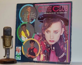 "Culture Club - ""Colour By Numbers"" (Original 1983 Virgin Records with ""Karma Chameleon"") - Vintage Vinyl"