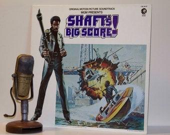"ON SALE Original Movie Soundtrack ""Shaft's Big Score (Original 1972 MGM Records) Vintage Vinyl Lp  Record"
