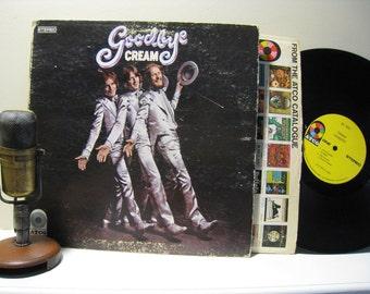 "ON SALE Cream Vinyl Record Album 1960s Rock ""Goodbye Cream"" (Original 1969 Yellow Label Atco / Atlantic Records SD 7001 - no poster, ""I'm So"