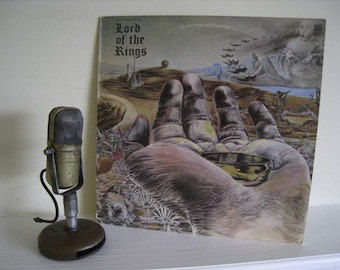 "ON SALE Vinyl Record Album, Lord of the Rings/Bo Hansson's ""Music Inspired by 'Lord of the RIngs' (1972 Famous Chrisma) Includes JRR Tolkien"