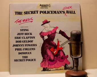 "ON SALE Amnesty International - ""The Secret Policeman's Other Ball"" (Original 1982 Island Records with Sting, Jeff Beck & Eric Clapton toget"