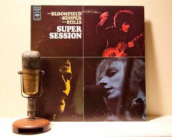"ON SALE Mike Bloomfield (Electric Flag) , Al Kooper (Bob Dylan)  & Steve Stills (CSNY) - ""Super Session"" (1970 Columbia Records) - Vintage L"
