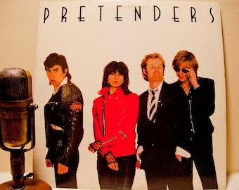 "ON SALE Vinyl Record Vintage LP Album, 'The Pretenders' - ""Pretenders"" (Original 1980 Sire Records w/ inner sleeve and ""Brass in Pocket"")"