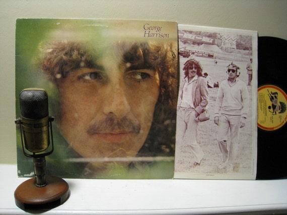 "Vintage Vinyl Record : George Harrison (The Beatles) - ""George Harrison"" (Original 1979 Ganga Records featuring ""Blow Away"")"