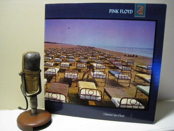 "Pink Floyd Vinyl Record Album ""A Momentary Lapse of Reason"" (1987 CBS w/original inner sleeve) Vintage Gatefold Vinyl"