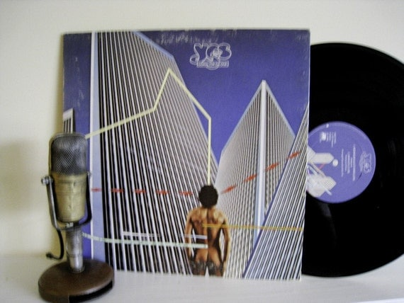"ON SALE Yes ""Going for the One"" Vinyl Record Album (1977 Atlantic Records with tri-fold cover)"