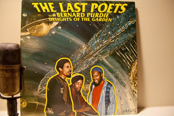 "Rare Original Hip Hop Pioneers Vintage Vinyl Record - 'The Last Poets with Bernard Purdie' - ""Delights of the Garden"" (Original 1977 Dougla"