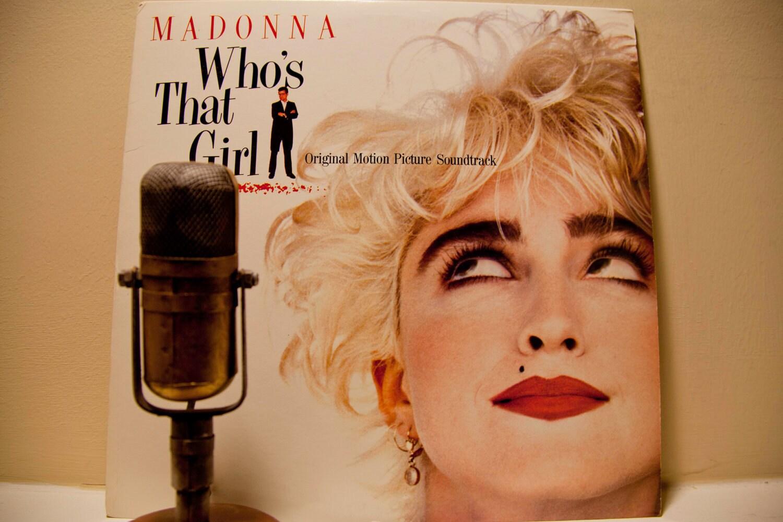 Madonna Vintage Vinyl Lp Record Album Who S That