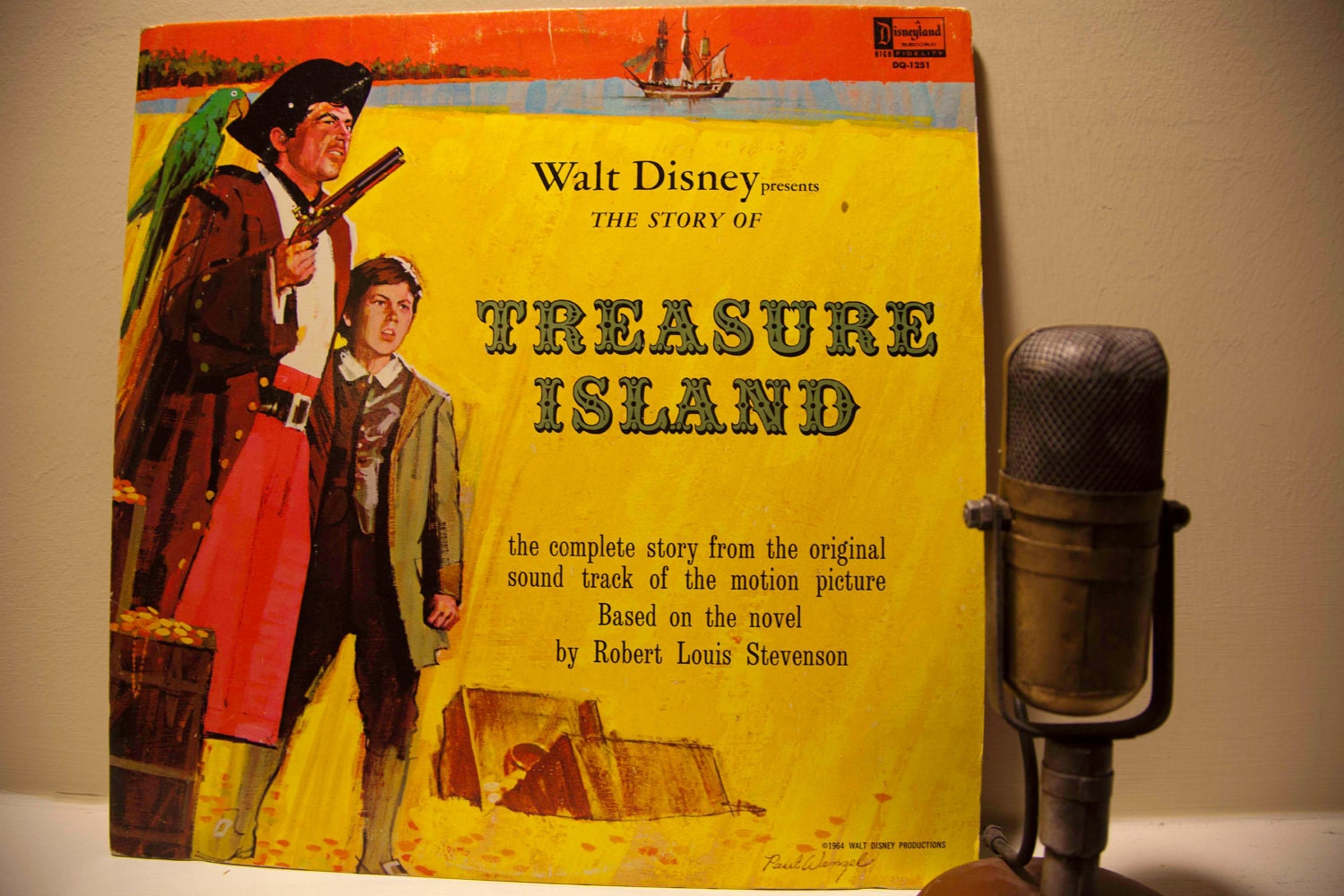 ON SALE Walt Disney Presents Treasure Island 1964