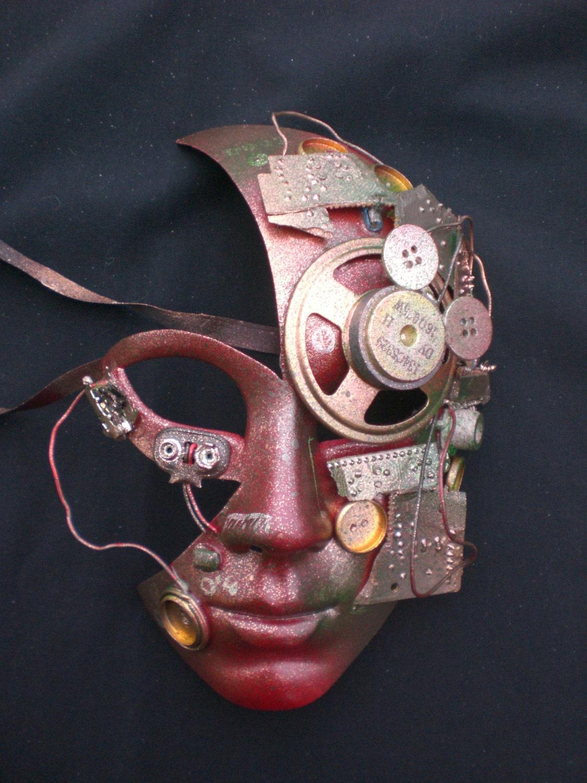 Venetian Robot Mask