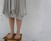 Meduza Skirt stone color