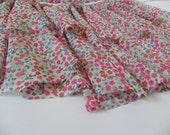 fairy queen pink floral bolero cape, fairy queen bride style, satin ribbon, romantic, soft and cute.