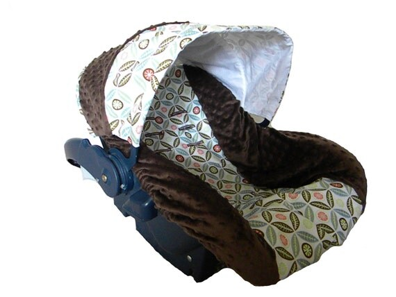 Infant Car Seat Cover Gender Neutral Custom For Jacqueline