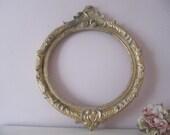 Reserved for onceuponabeth Vintage Gold Gilt Gesso Italian Frame
