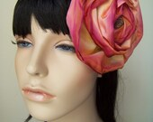 floral fascinator hair piece or pin