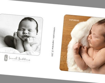 includes covers:  rounded corner album template for 8x8 miller's layflat album plus 3 covers