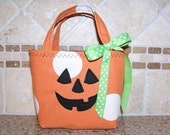 Jack O' Lantern - Baby's First Trick or Treat Tote