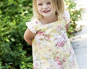 INSTANT DOWNLOAD- Elsie Dress (Size 6/9 months to size 10) PDF Sewing Pattern and Tutorial