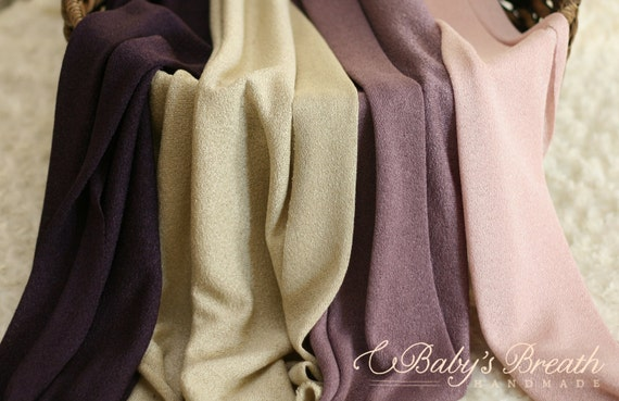 Textured Knit Fabric Swaddle Wrap