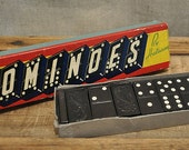 Vintage Wooden Dominoes