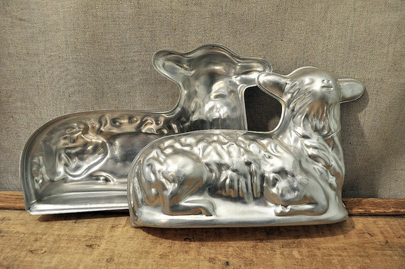 RESERVED for Rico Vintage Lamb Cake Pan Mold