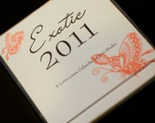 2011 Letterpress Desk Calendar on Bamboo Paper