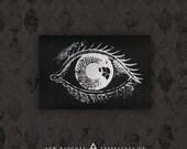 Eye - Black Canvas Patch