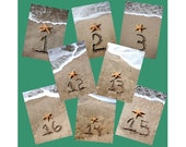 Custom Listing For Deb Walsh Table numbers