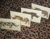 Runnin' Rhinos Card Set