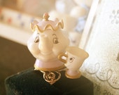 Mrs. Potts and Chip from Beauty and the beast ring